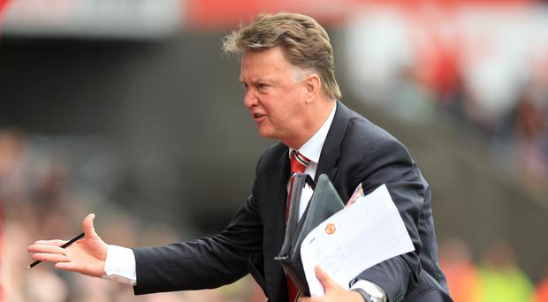 Louis van Gaal, pictured, reportedly admitted the fee paid for Anthony Martial was
