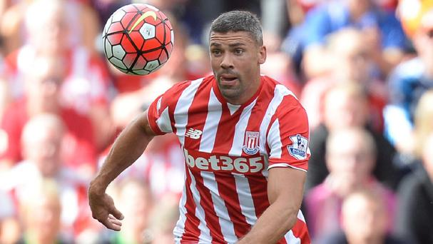 Jonathan Walters will be in Stoke's squad to face Arsenal this weekend