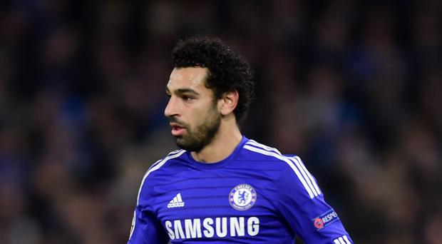 Mohamed Salah, pictured playing for Chelsea, joined Roma on loan this summer