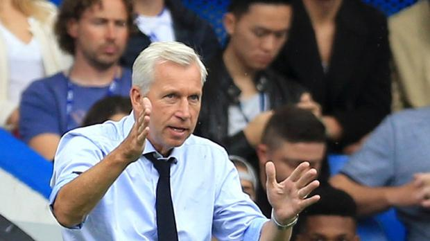 Alan Pardew's Crystal Palace face Manchester City on Saturday