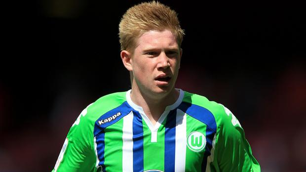 Kevin de Bruyne is in contention to make his Manchester City debut at Crystal Palace