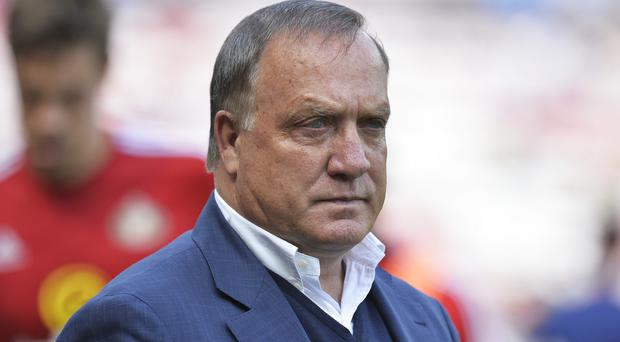 Sunderland boss Dick Advocaat has warned his side to expect a Tottenham backlash on Sunday