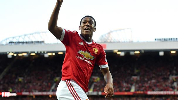 Anthony Martial's stunning debut strike clinched victory for Manchester United