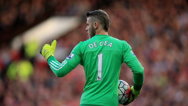 Manchester United goalkeeper David De Gea was back in action at Old Trafford