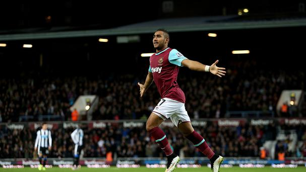 Dimitri Payet shone for West Ham as they sank Newcastle
