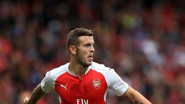 Arsenal's Jack Wilshere is to miss several weeks