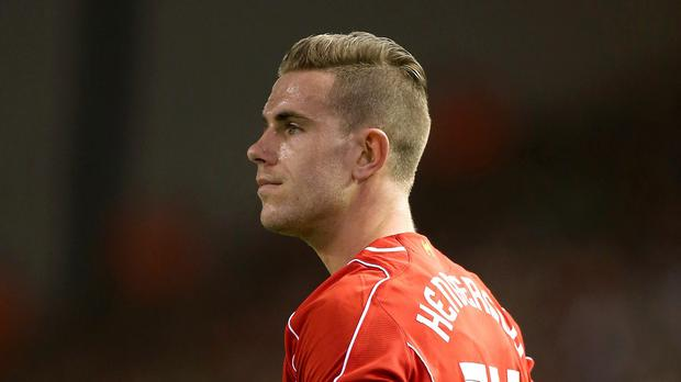 Reds alert: Jordan Henderson has broken a bone in his foot during training in Melwood