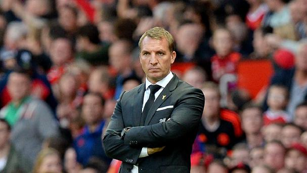 Brendan Rodgers is under pressure at Liverpool