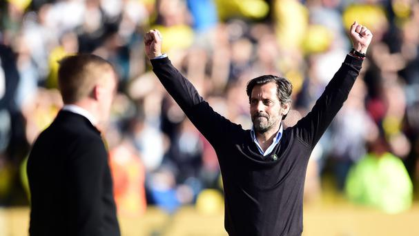 Quique Sanchez Flores saw his Watford side win at home to Swansea last weekend.
