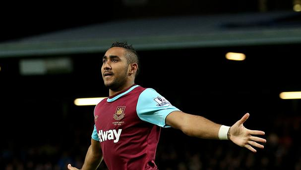 Dimitri Payet has scored three goals in five games for West Ham this season.