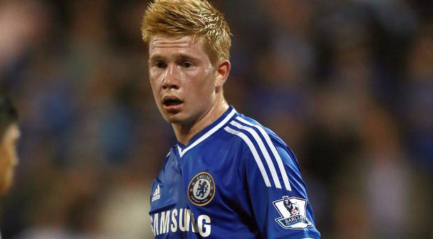 Kevin de Bruyne was unable to establish himself at Chelsea as a youngster