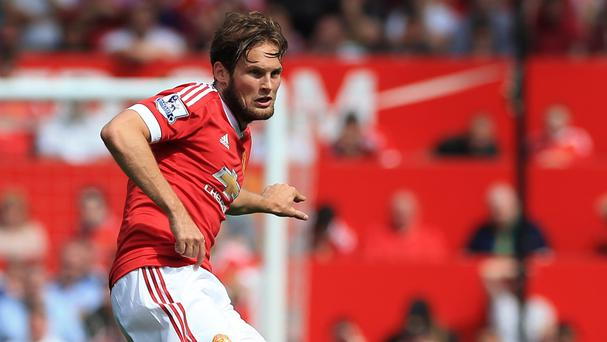 Daley Blind has come in for criticism since playing in central defence for Manchester United