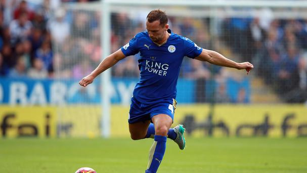 Danny Drinkwater won the penalty from which Leicester scored their first goal at Stoke.