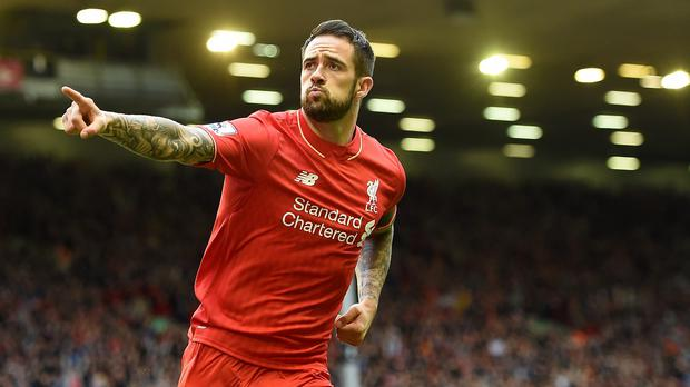 Liverpool's Danny Ings scored his first goal for the club in the 1-1 draw with Norwich