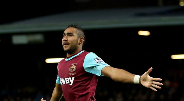 Dimitri Payet has scored three goals for West Ham this season