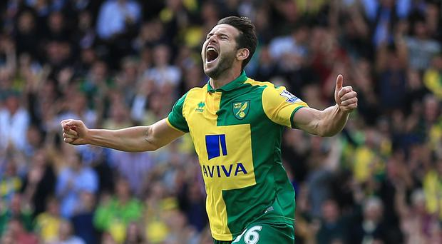 Norwich City's Matt Jarvis has scored twice in his first three games for the club