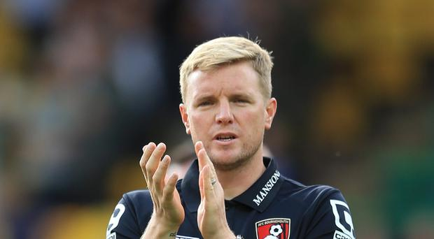 Bournemouth manager Eddie Howe has told his players not to underestimate Stoke on Saturday.