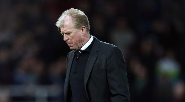 Newcastle head coach Steve McClaren is sticking to his guns