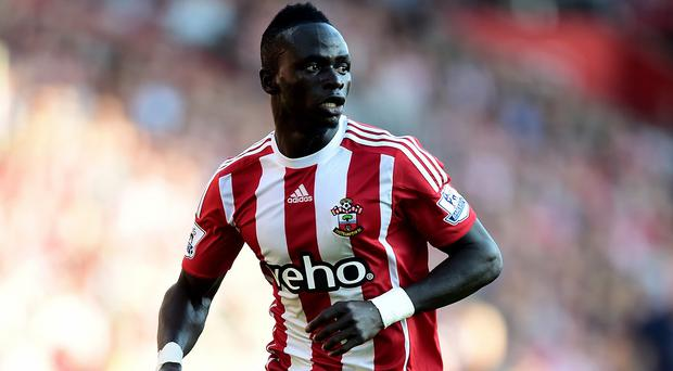 Sadio Mane scored Southampton's third goal as they beat Swansea