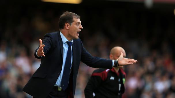 West Ham United manager Slaven Bilic had to take a point