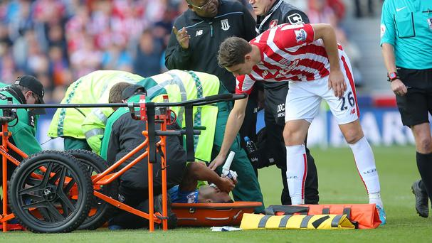 Callum Wilson suffered a worrying injury as Bournemouth lost to Stoke