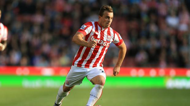 Xherdan Shaqiri is keen to get Stoke back into Europe