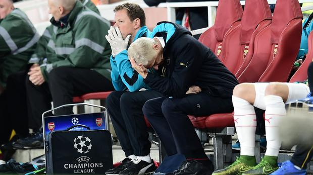 Arsene Wenger refused to blame David Ospina after another loss in Europe