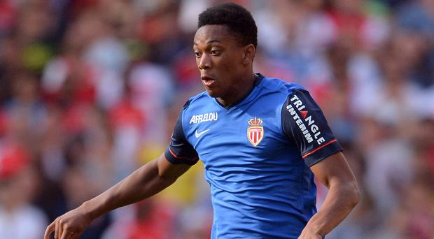 Anthony Martial came to prominence at Monaco