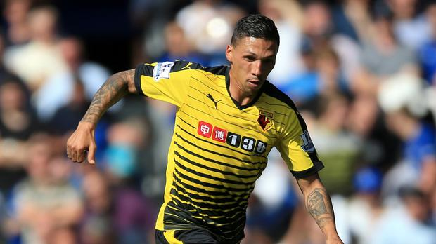 Jose Holebas arrived at Watford during the summer from Roma