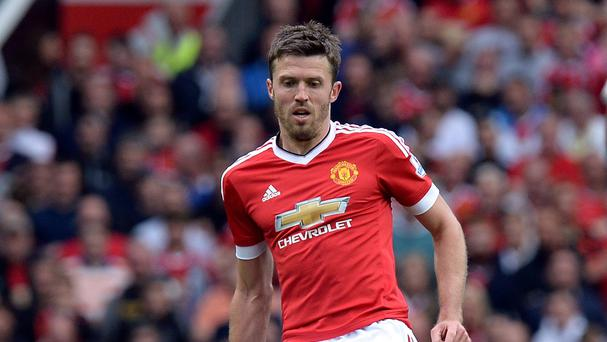 Michael Carrick is due to return for Manchester United this weekend