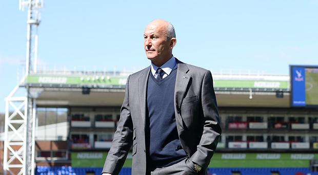 Former Palace manager Tony Pulis, pictured, heads back to Selhurst Park with West Brom on Saturday.