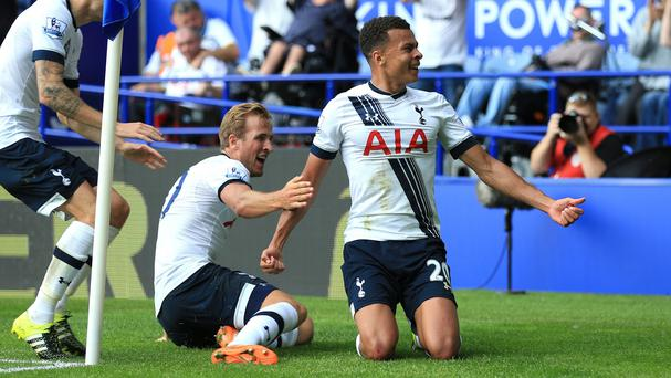 Tottenham duo Harry Kane, pictured left, and Dele Alli, right, have been called up by England