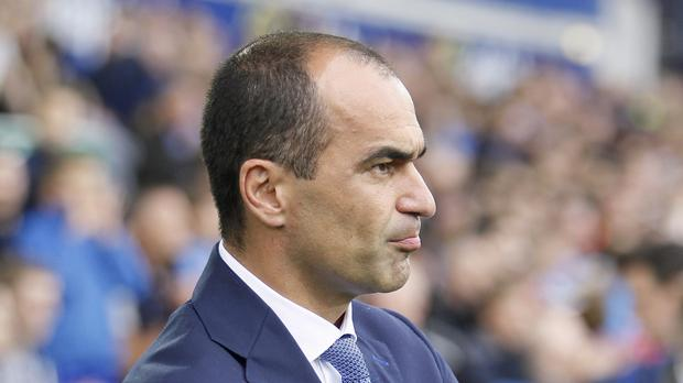Everton boss Roberto Martinez hopes to celebrate his first Merseyside derby victory on Sunday