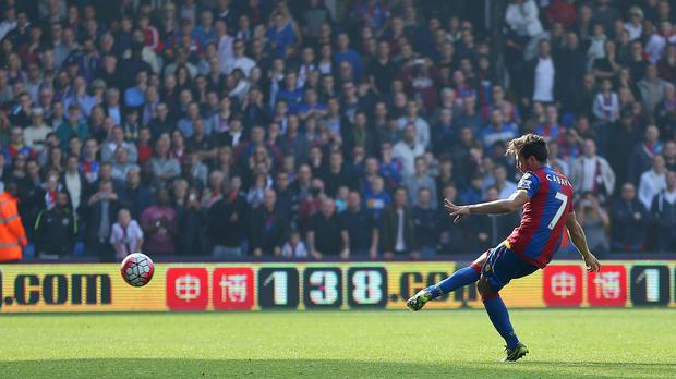 Crystal Palace's Yohan Cabaye won praise from his boss Alan Pardew