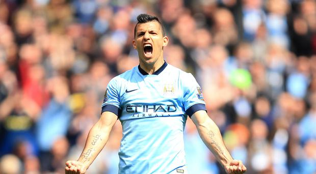 Manchester City's Sergio Aguero scored a sensational five goals against Newcastle