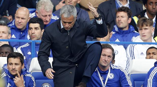 Chelsea manager Jose Mourinho saw his side suffer another painful defeat