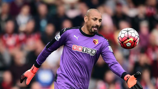 Heurelho Gomes' late penalty save denied Bournemouth victory over Watford