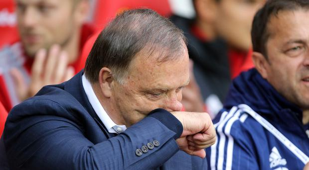 Dick Advocaat has left his position as Sunderland head coach