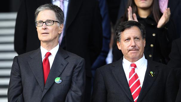 Liverpool owners John W Henry, left, and Tom Werner, right, are looking for a proven manager