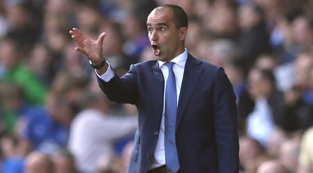 Everton manager Roberto Martinez has been impressed by his defensive reinforcements