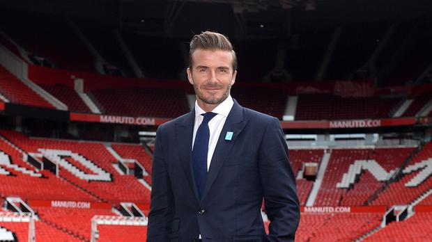 David Beckham will play in a charity match at Old Trafford on November 14