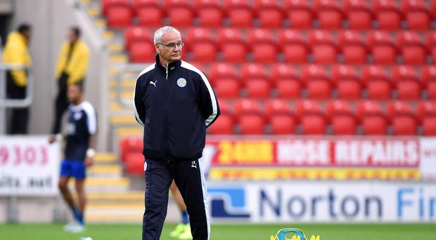Leicester boss Claudio Ranieri, pictured, recently played down talk of signing Ezequiel Schelotto