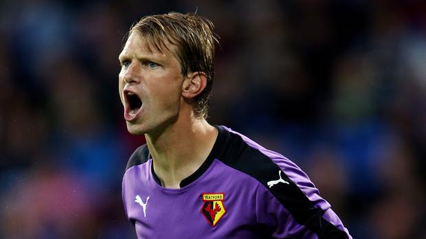 Giedrius Arlauskis moved to promoted Watford in June