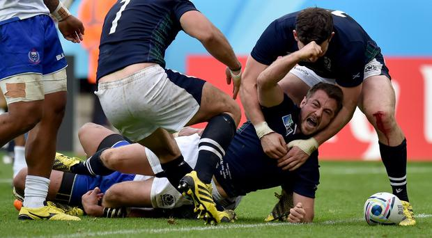 Scotland beat Samoa at St James' Park on Saturday
