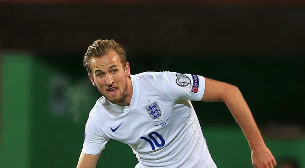 Harry Kane won his sixth England cap in the defeat of Lithuania