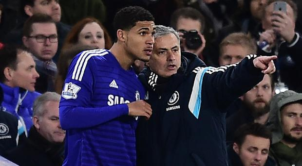 Ruben Loftus-Cheek, left, believes Chelsea manager Jose Mourinho, right, is still the perfect man for the job