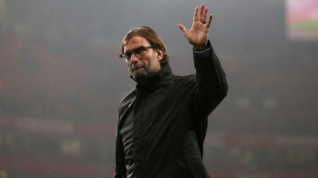 Jurgen Klopp will take charge of Liverpool for the first time against Tottenham on Saturday