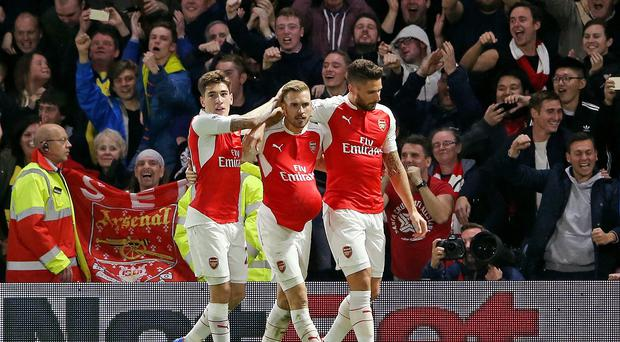 Arsenal got the better of Watford at Vicarage Road