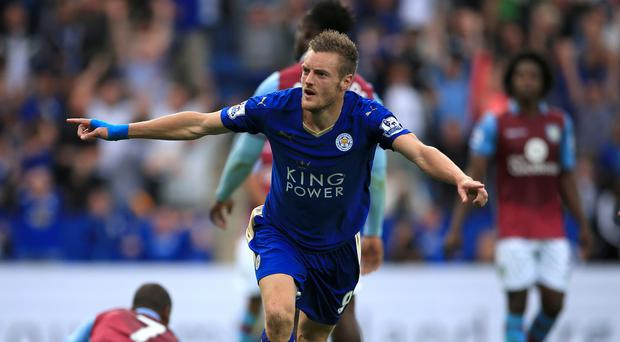 Claudio Ranieri insists Jamie Vardy, pictured, is not for sale