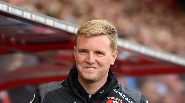 Bournemouth manager Eddie Howe did not enjoy watching his team's 5-1 loss by Manchester City